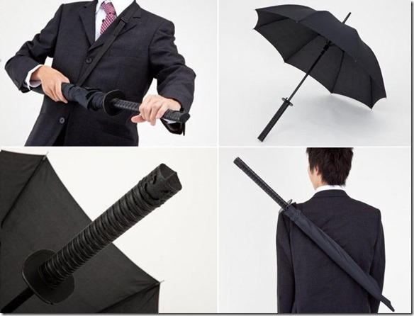 Design - Guarda-chuva ninja