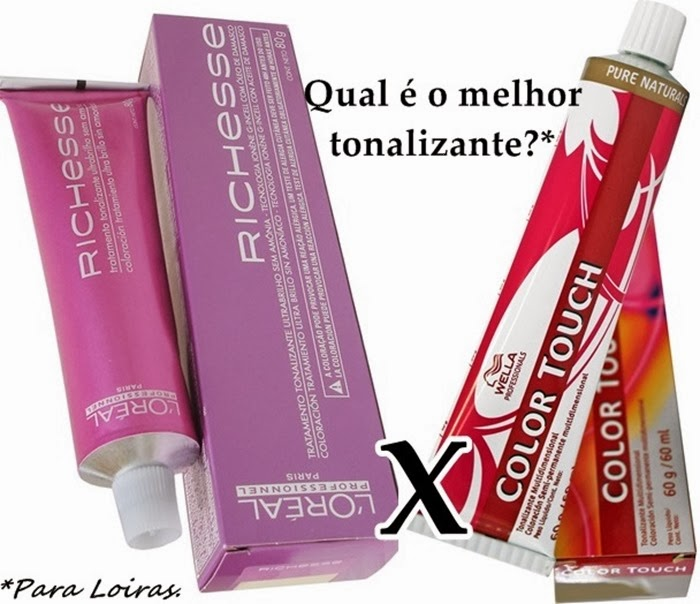 Loreal Richesse X Wella Color Touch
