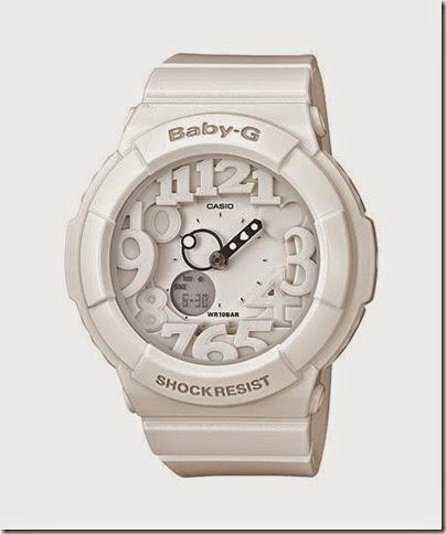 Casio Baby-G BGA-131-7B Neon Illuminator 130 Series white
