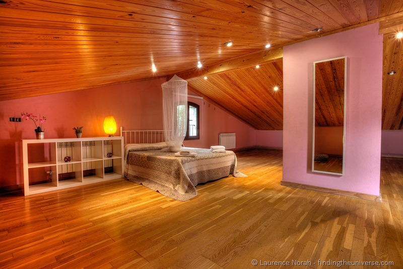 Naturaki Can Martinot Costa Brava loft bedroom wooden