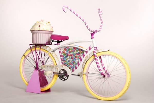 Bicicleta-Doces-Cupcake-Chicletes-Rosa