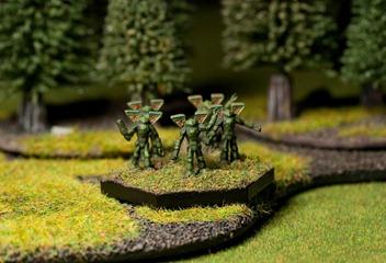 Battletech - Clan Jade Falcon Elementals