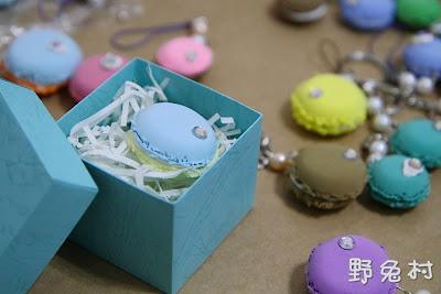 [生活-婚事] 手工婚禮小物(馬卡龍+Tiffany盒)、雙喜字DIY