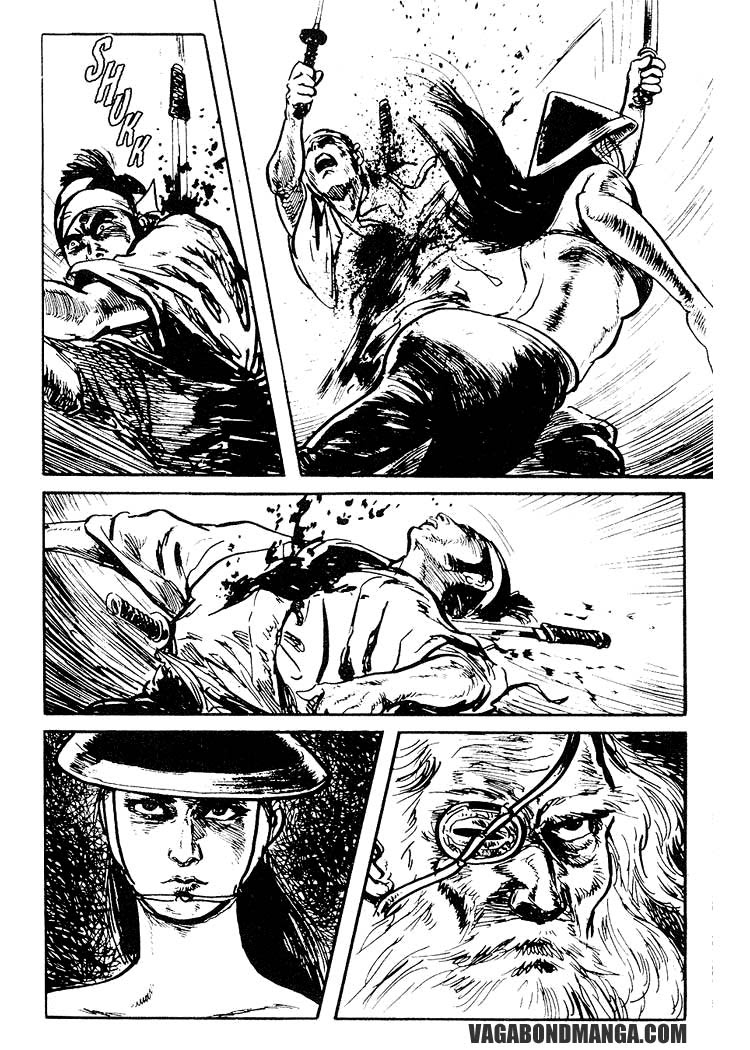 Sói mang con - Lone Wolf and Cub Chap 79