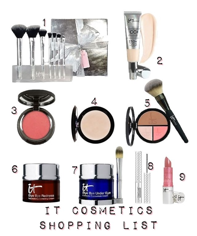 IT Cosmetics Wish List
