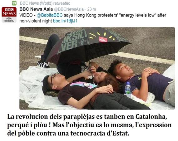 revolucion dels paraplèjas China Catalonha