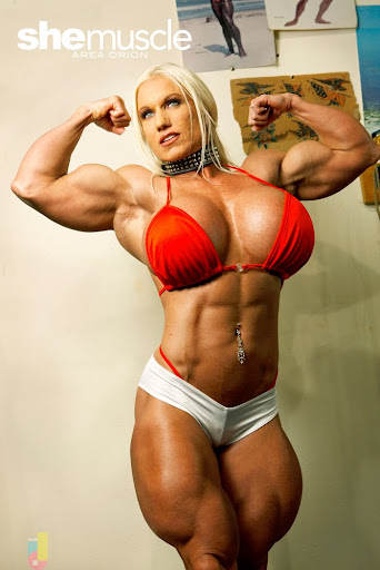 female muscle morph http areaorion blogspot com tags area orion female