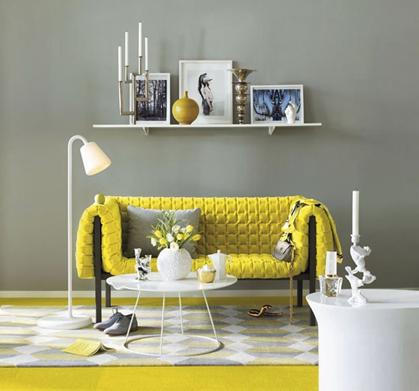 divano-ligne-roset-giallo