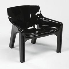 Vicario armchair, black