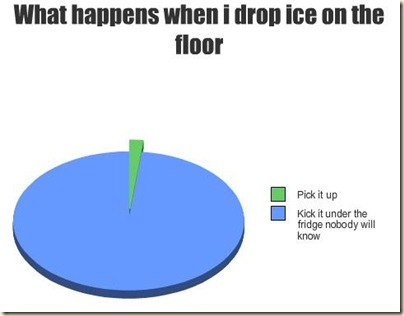ice fridge chart