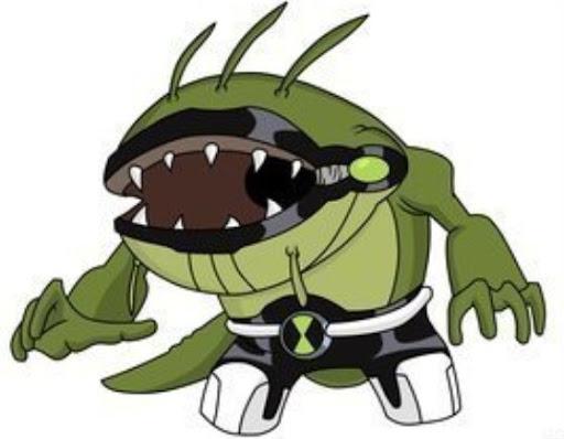 Spitter Ben 10 Alien F...