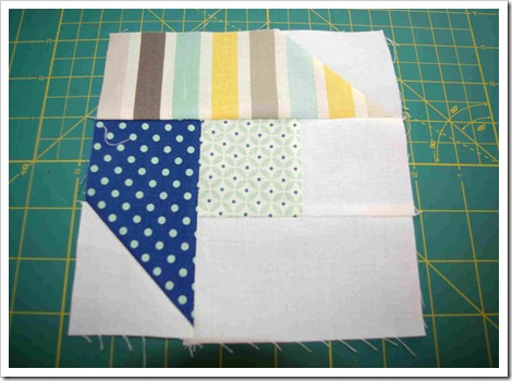 Four Patch Star step 7