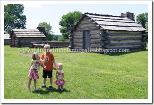 Valley Forge Homeschool Fieldtrip