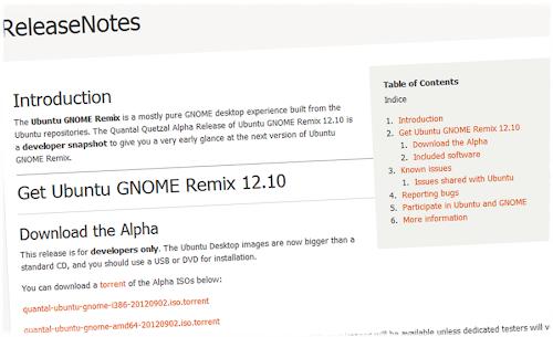 GNOMEbuntu (Ubuntu GNOME Remix) Alpha