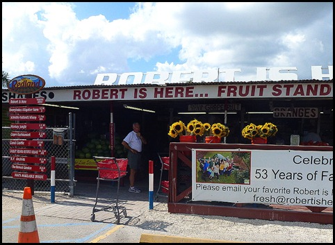 17a - Robert is Here Produce Stand