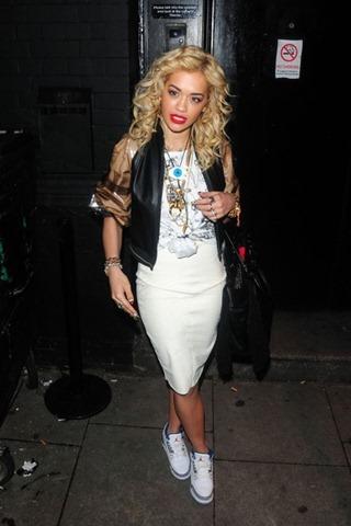 Rita Ora arrives performance London KOKO club b0oluTatIDhl