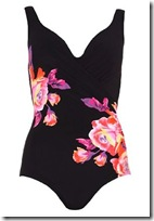 Rose Print Underwired Floral Swimsuit