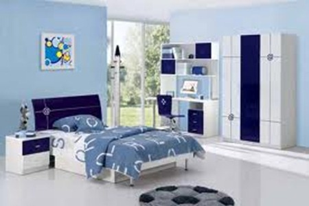 Kids bed room interior decorations 5