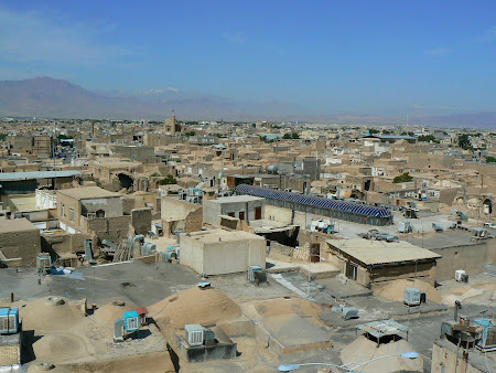 Kashan panorama