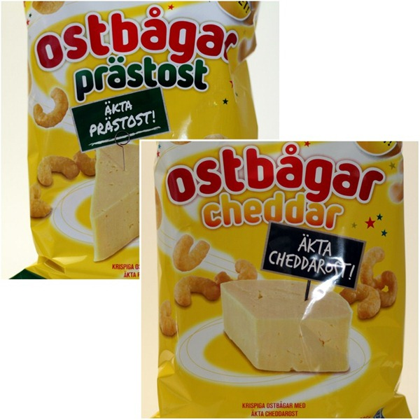 Estrella Ostbågar Prästost och Cheddar