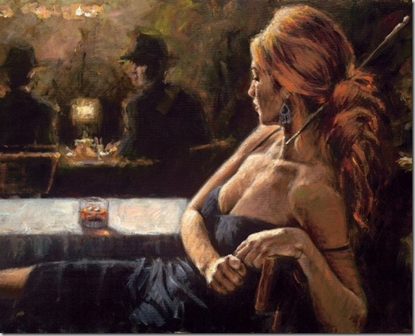 Fabian Perez 1967 - Argentine Figurative painter - Reflections of a Dream - Tutt'Art@ (27)