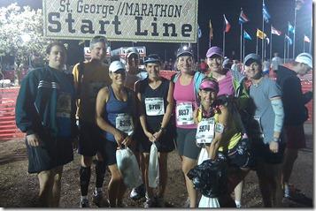 St. George start line