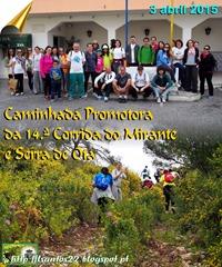 Caminhada promotora Corr. Mirante... 03.03.15