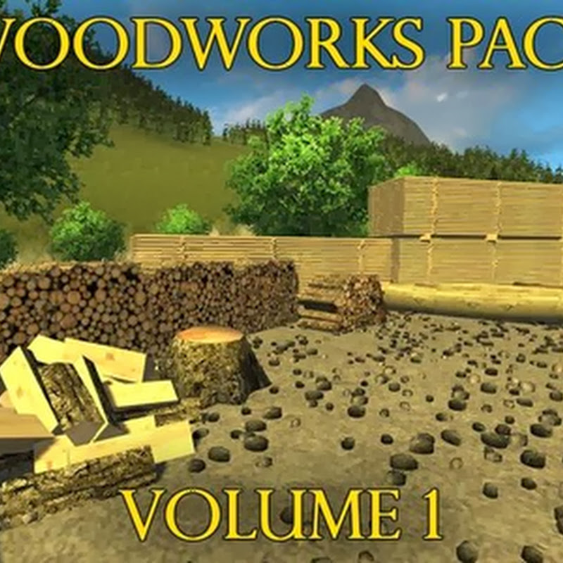 Farming simulator 2013 - Woodworks pack v 1.0