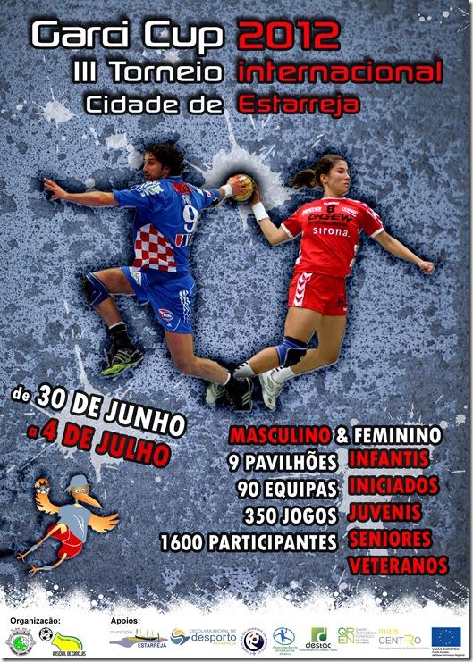 Cartaz Garçi Cup 2012
