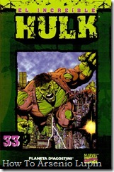 P00033 - Coleccionable Hulk #33 (de 50)