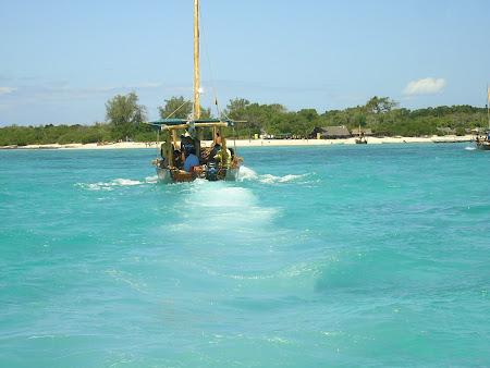 Excursii Zanzibar: inapoi spre insula