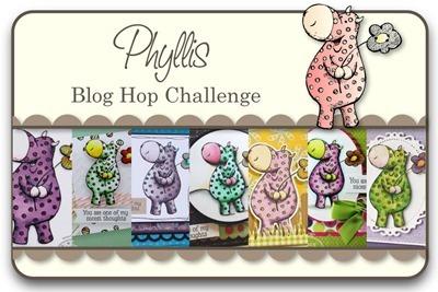 Phyllis Blog Hop Challenge