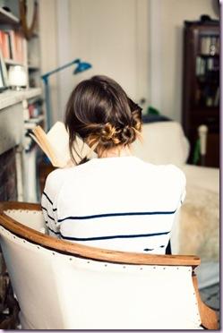 brunette hairdo