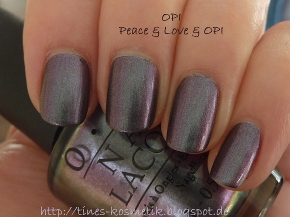 OPI Peace & Love & OPI 6