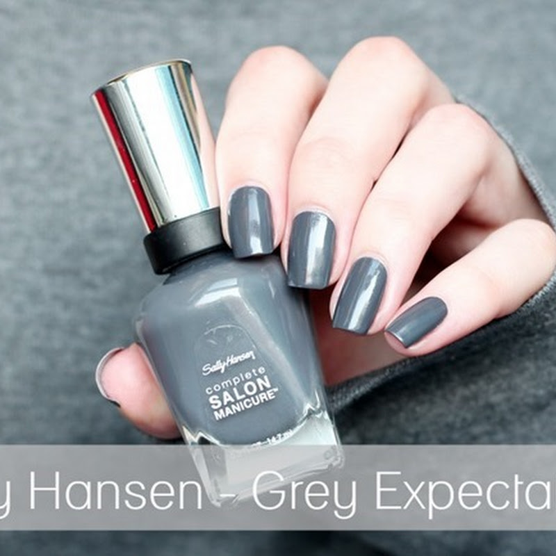 [Swatch] Sally Hansen–Grey Expectations