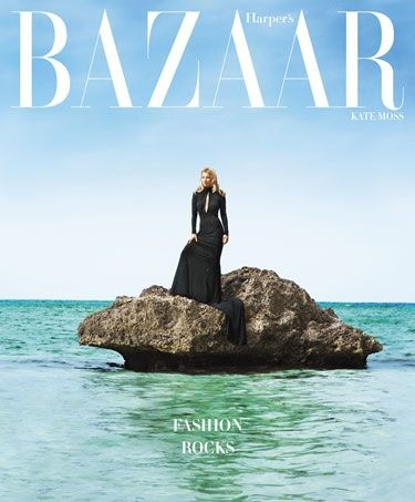 Kate Moss on Harper&#39;s Bazaar June-July 2012