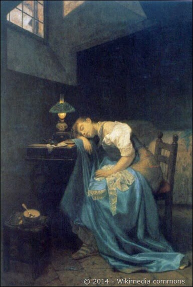 Angelo_Trezzini_-_A_Tired_Seamstress