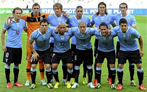 Partidos amistosos de Uruguay previos a la Copa América 2015