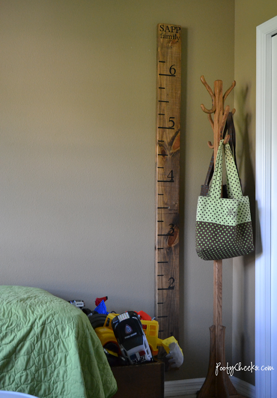 Boy ABC Bedroom Reveal by Poofy Cheeks