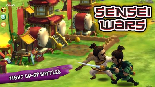 لعبة حروب معلمى الساموراى Sensei Wars للأندرويد