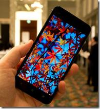 HTC J butterfly display