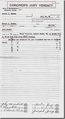 BOWDEN_Robert L_Coroner Case Report_Oct 1906_page 6_McKeesRocksPA_annotated
