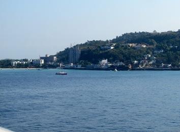 Arriving at Montego Bay, Jamaca