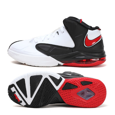 nike air max ambassador 5 gr white black red 1 06 Nike Air Max Ambassador V Miami Heat Home Edition