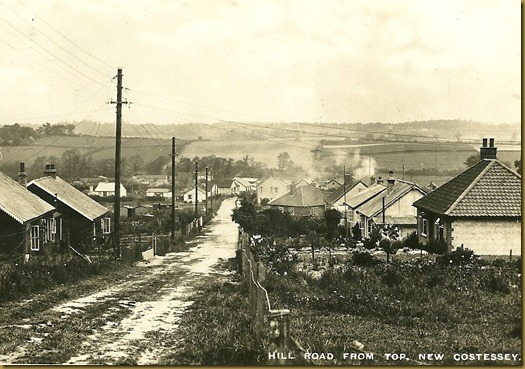 Hill Road, Costessey 1940s