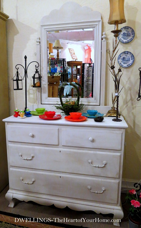 Lexington Dresser in AS Pure White