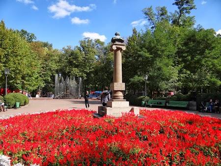 Obiective turistice Chisinau: Statuia lui Puskin