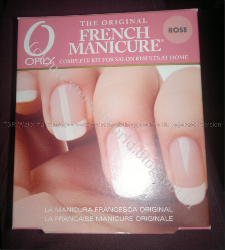 Orly French Manicure – Step by Step Tutorial and Review