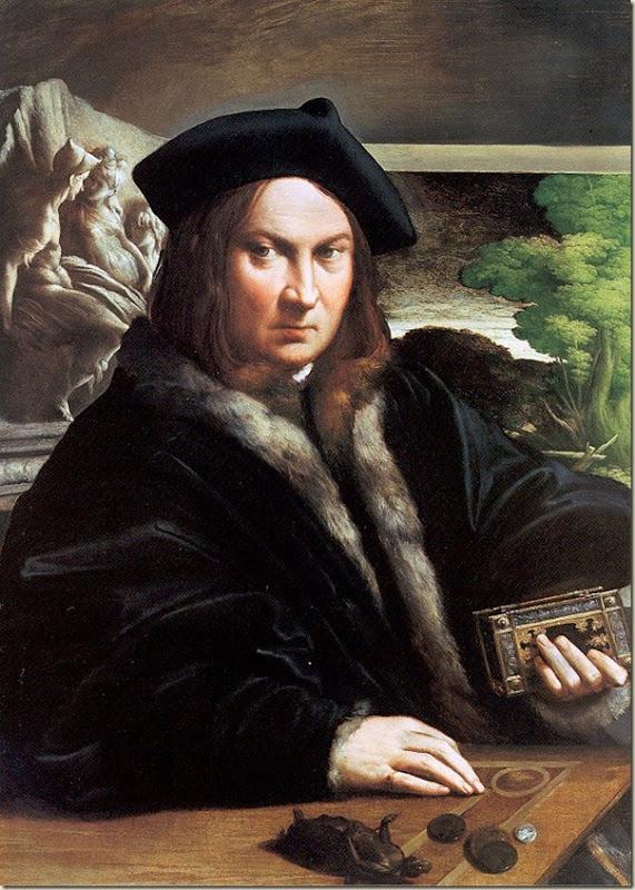 Parmeggiano, Portrait d'un collectionneur