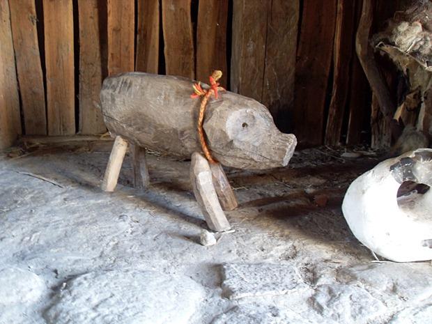 Udskåret gris